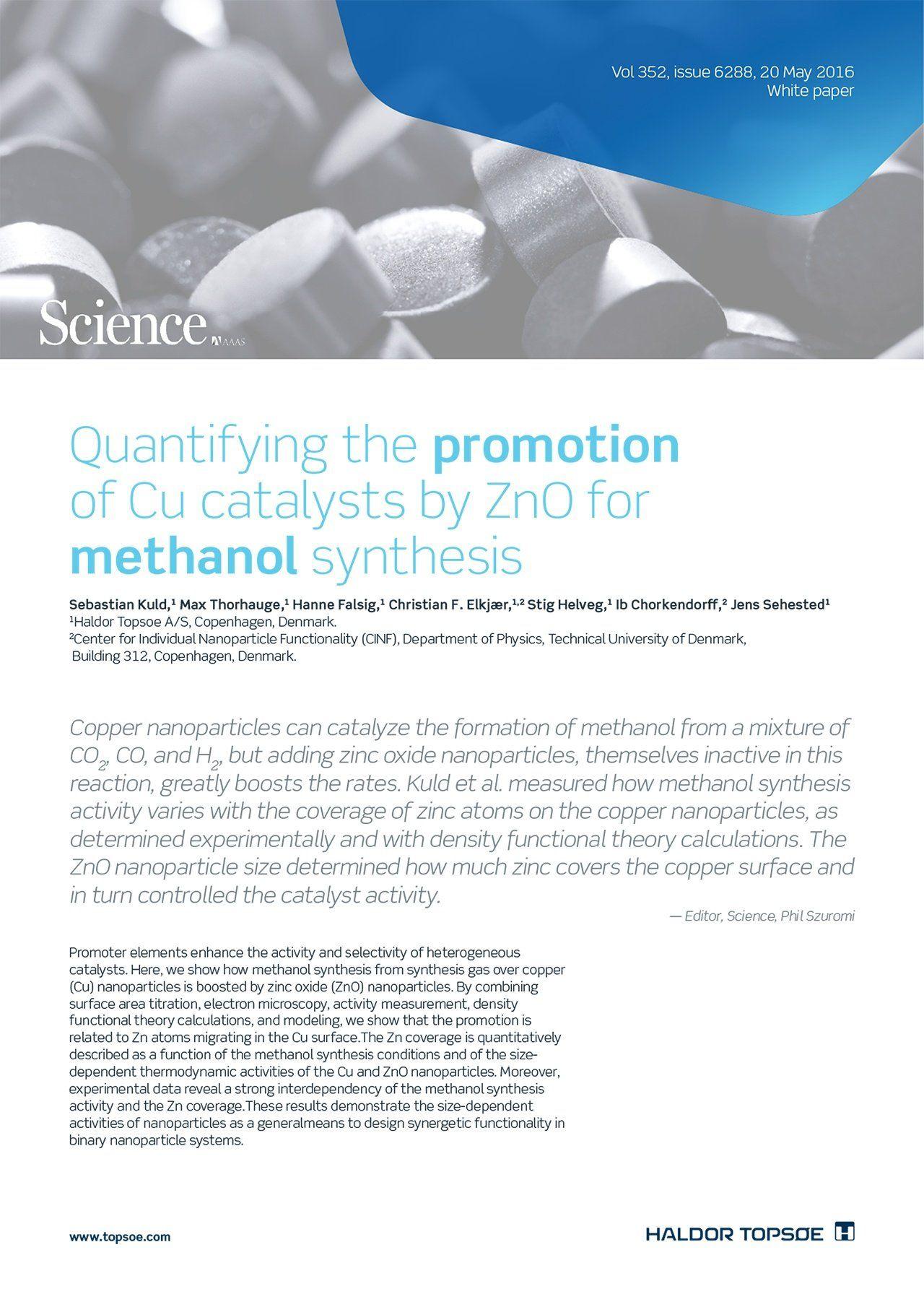 Sebastian-Kuld-Max-Thorhauge-Hanne-Falsig-Christian-F-Elkjær-Stig-Helveg-Ib-Chorkendorff-Jens-Sehested-methanol-synthesis-white-paper